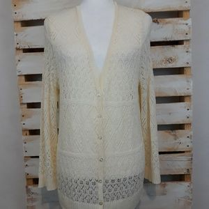 VALERIE BERTINELLI  cardigan sweater